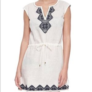 NWOT Tory Burch Margarita Linen Dress XS